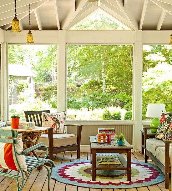 Creative Home Decor Youtube: Covered Back Porch