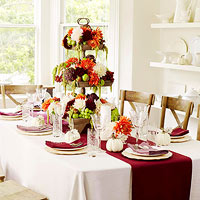 Beautiful Fall Table Settings