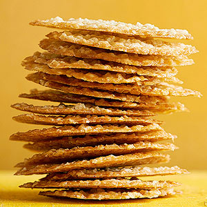 Browned Butter and Oatmeal Crisps