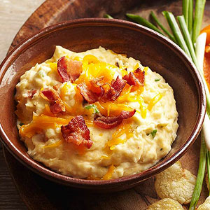 Bacon-Cheddar Potato Dip