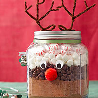 Simple and So-Cute Christmas Food Gifts