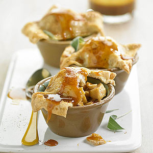 Baked Apple Bowl Pies