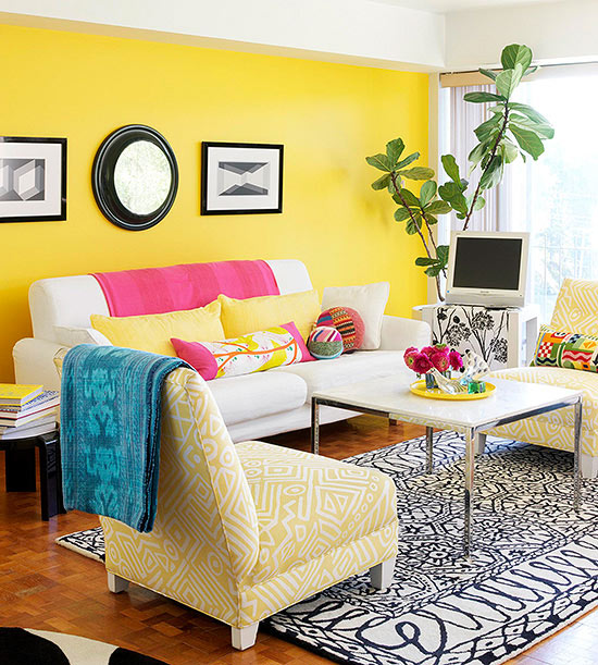 1065 Best Images About Interiors Color Combinations On: Yellow Color Schemes