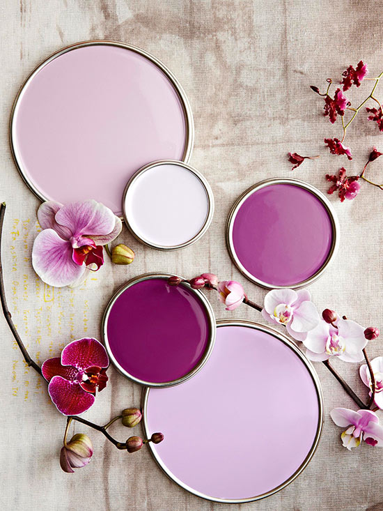 Purple paint colors - Lavender paint color schemes ...