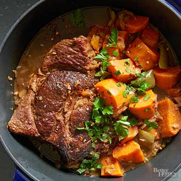 Watch: Coffee-Braised Pot Roast