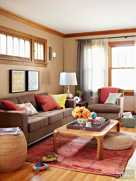 paint colors that go with brown furnitureWhat Colors Go with Brown