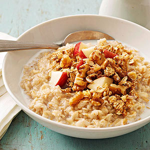Apple Crisp Hot Cereal