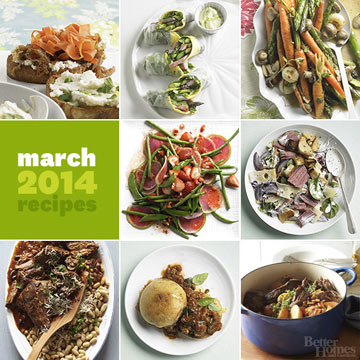 Recipes from Our March Issue