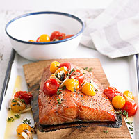Grilled Main: Salmon