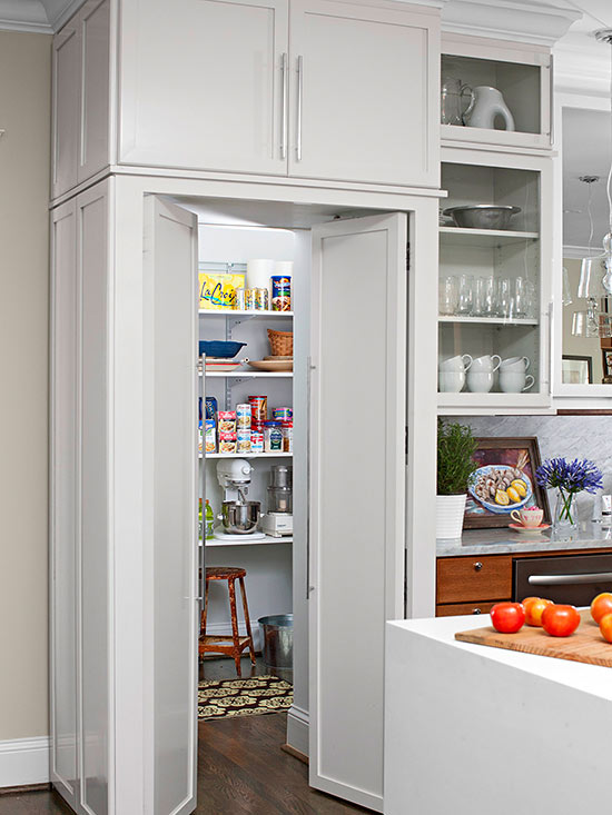 Walk in pantry cabinet ideas for Walk in pantry cabinets