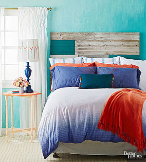 Colorful DIY Bedroom Projects