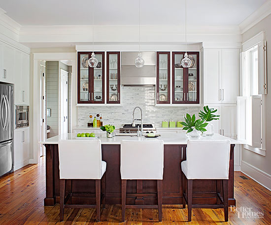 Kitchens that Maximize Small Footprints Better Homes and Gardens