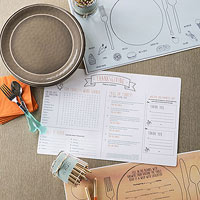 Printable Place Mats and Trivia
