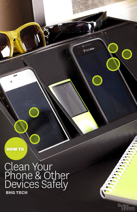 How to Clean Your Phone (and other Devices) Safely