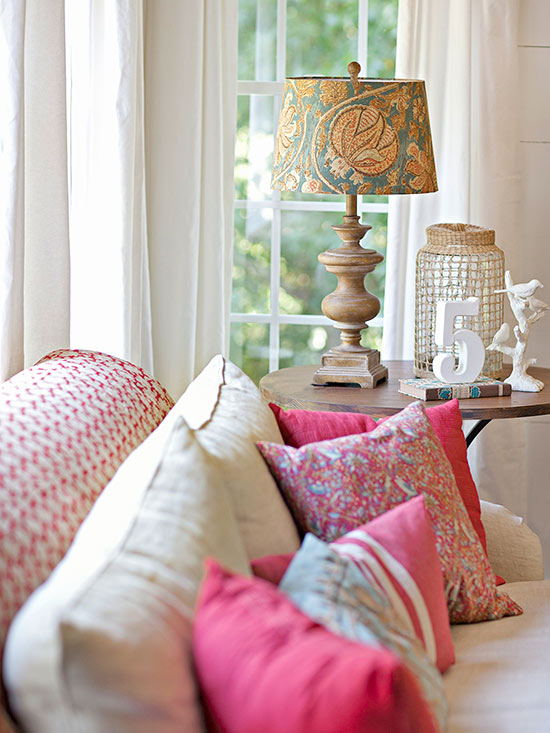 Swap a Plain Lampshade For ...