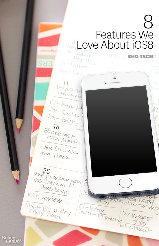 The 8 Best Features of iOS 8