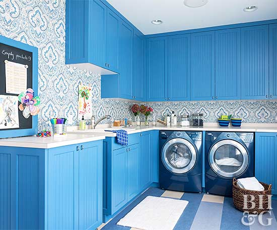 Declutter Your Laundry Room