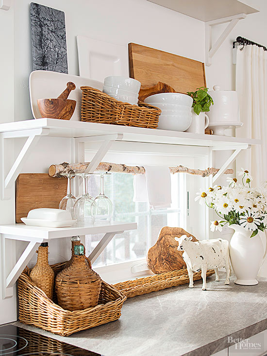 Grab Storage Near Ceilings and Windows