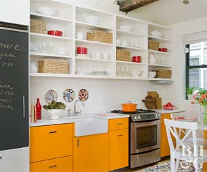 how to organize kitchen cabinets - Kitchen Countertop Storage Ideas