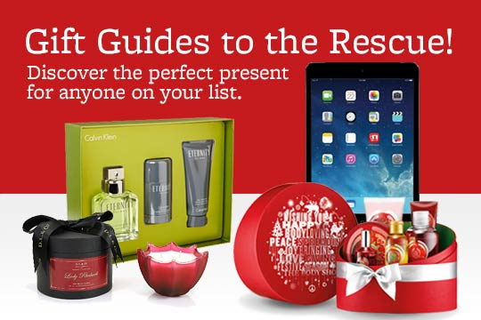 Gift Guides to the Rescue!