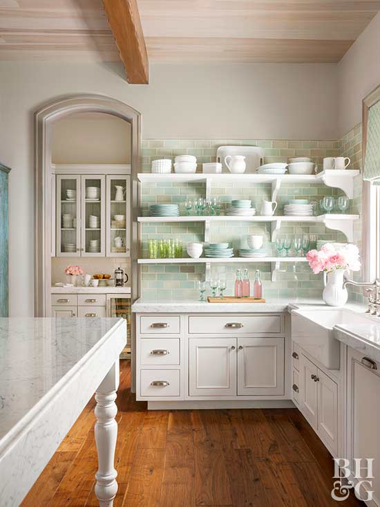 Bhg Kitchen Design Style 15 tips for a cottagestyle kitchen
