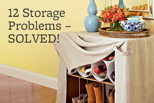 12 Storage Problems -- SOLVED!
