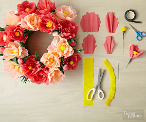 DIY Paper Flowers Template