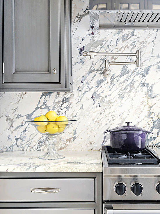 Neutral Backsplash Ideas