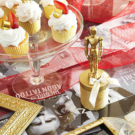 Glittering Oscar Party Ideas