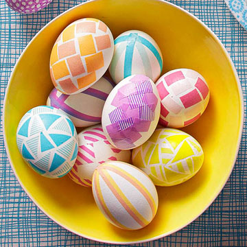 No-Dye Easter Egg Ideas