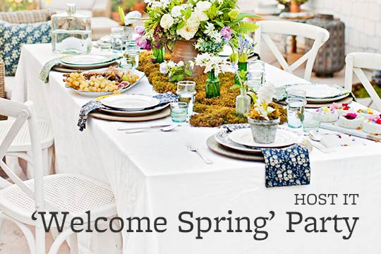 'Welcome Spring' Party