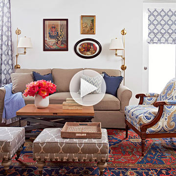 Small Living Room Arranging Tricks