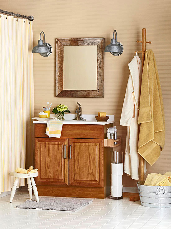 Detract From The Visual Weight Of Oak Cabinets By Opting For White Or Light  Flooring Or Countertops To Brighten A Space. Notice How The Oak Cabinet In  This ...