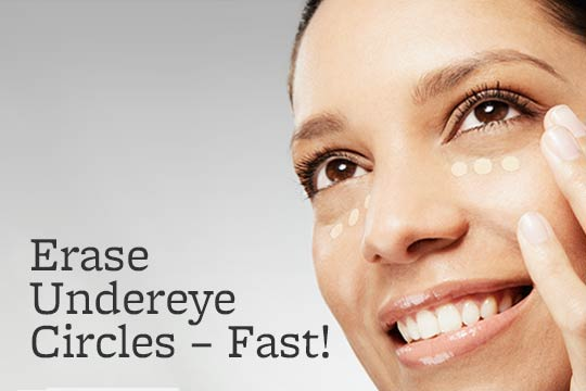 Erase Under-Eye Circles -- Fast!