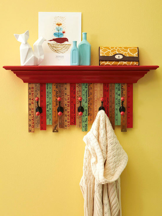 Yardstick Coatrack