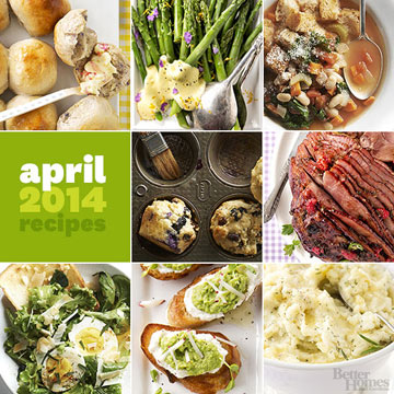 Fresh Recipes from Our April Issue