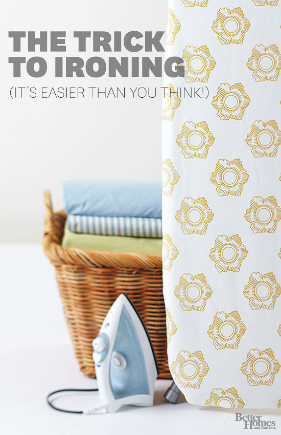 How to Iron (It's Easier Than You Think)
