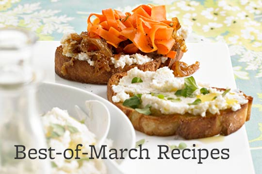 Best-of-March Recipes