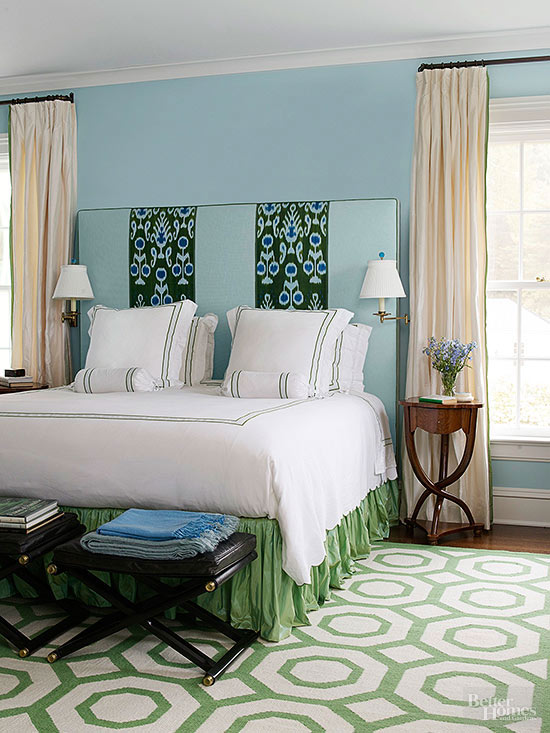 What Color Curtains Go With Blue Walls Blue and Green Walls