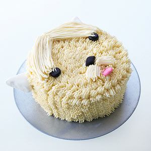 Cute Terrier Dog Cake