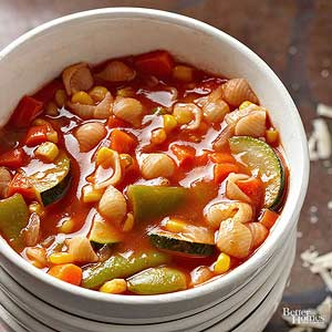Italian Vegetable and Pasta Soup