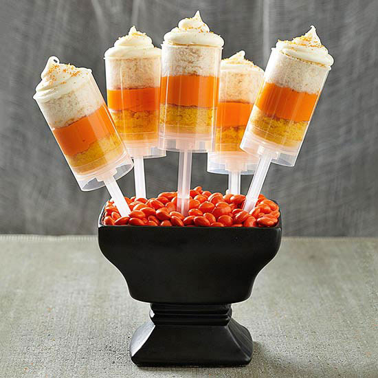 Creamy Halloweeny Push-Up Pops