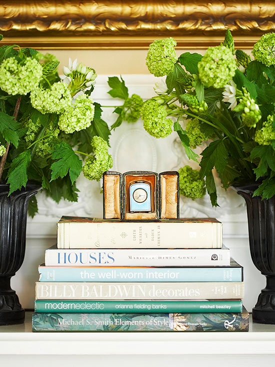 Decorating Tips For Living Room Brown Walls: Decorating With Books: Decorating Ideas From (and With