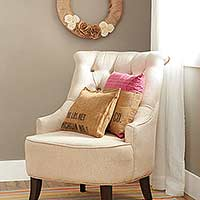 Cute Ideas for Burlap