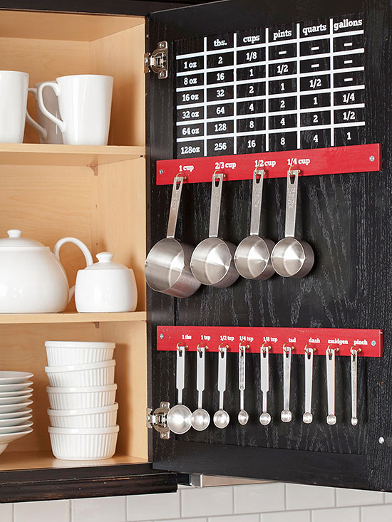 Clever Storage Ideas For Small Kitchens Baking Tins