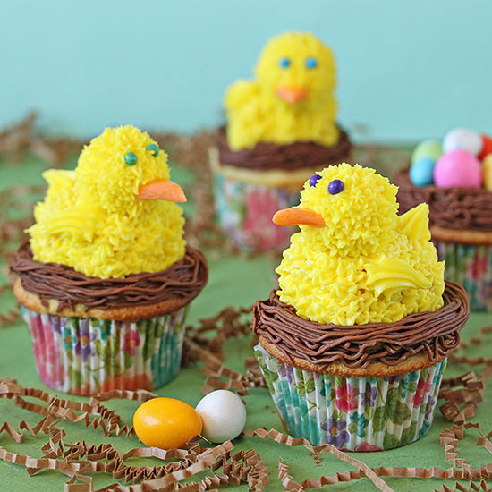 Chick Cupcakes