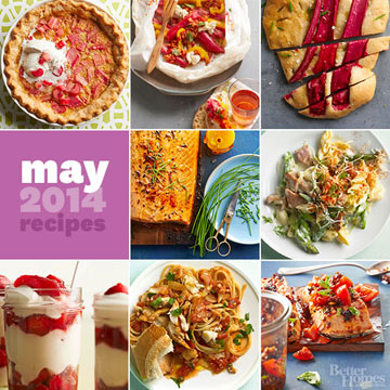 NEW! Spring Recipes from Our May Issue
