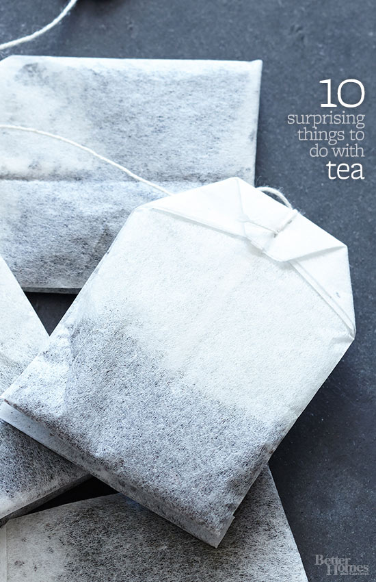 10 Surprising Things to Do with Tea