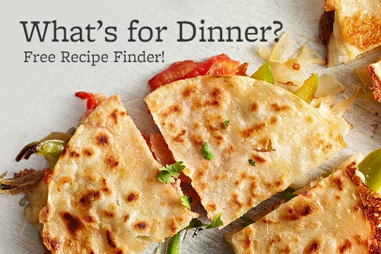 What's for Dinner? Free Recipe Finder!