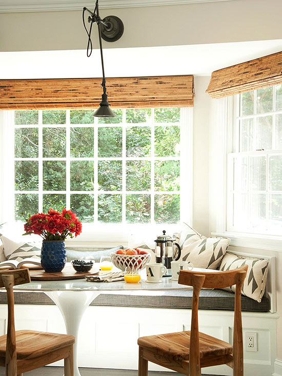 Breakfast nook ideas - Kitchen nook table ideas ...